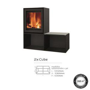 Versatile H 2x Cube